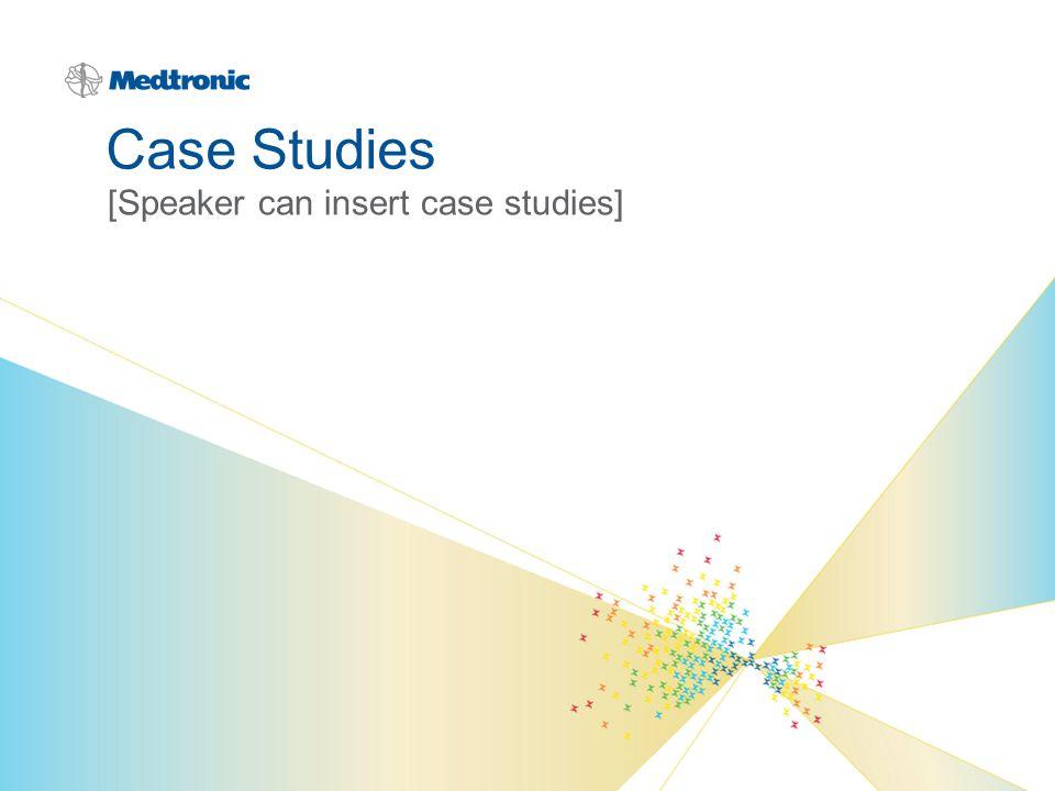 [Speaker can insert case studies]